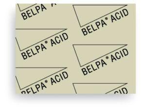 Carton Comprimido Prensado libre de amianto Belpa Acid