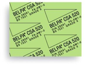 Carton Comprimido Prensado libre de amianto Belpa CSA 520