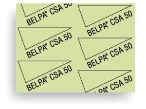 Carton Comprimido Prensado libre de amianto Belpa CSA 50