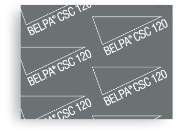 Carton Comprimido Prensado libre de amianto Belpa CSC 120