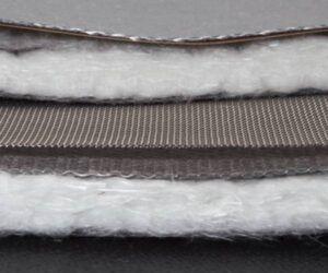 capas aislantes junta dilatación textil