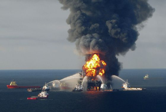 desastre ecológico golfo de México