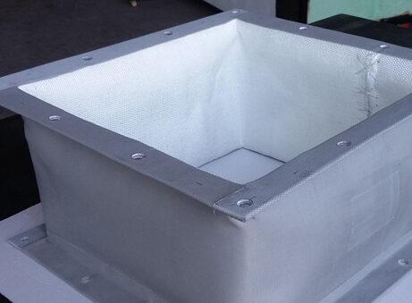 junta de dilatacion no metalica rectangular