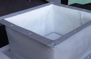 rectangular flanged textile compensator