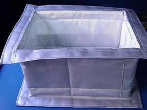 compensador textil dilatación embridado rectangular