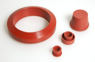 silicone molded
